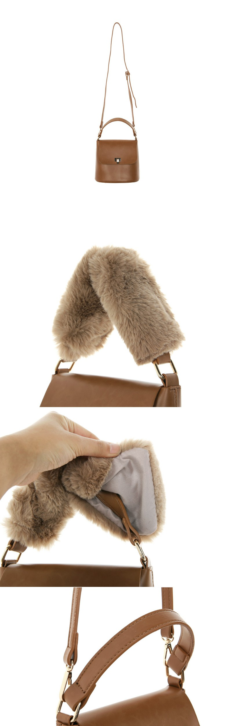 Harpy mink bag