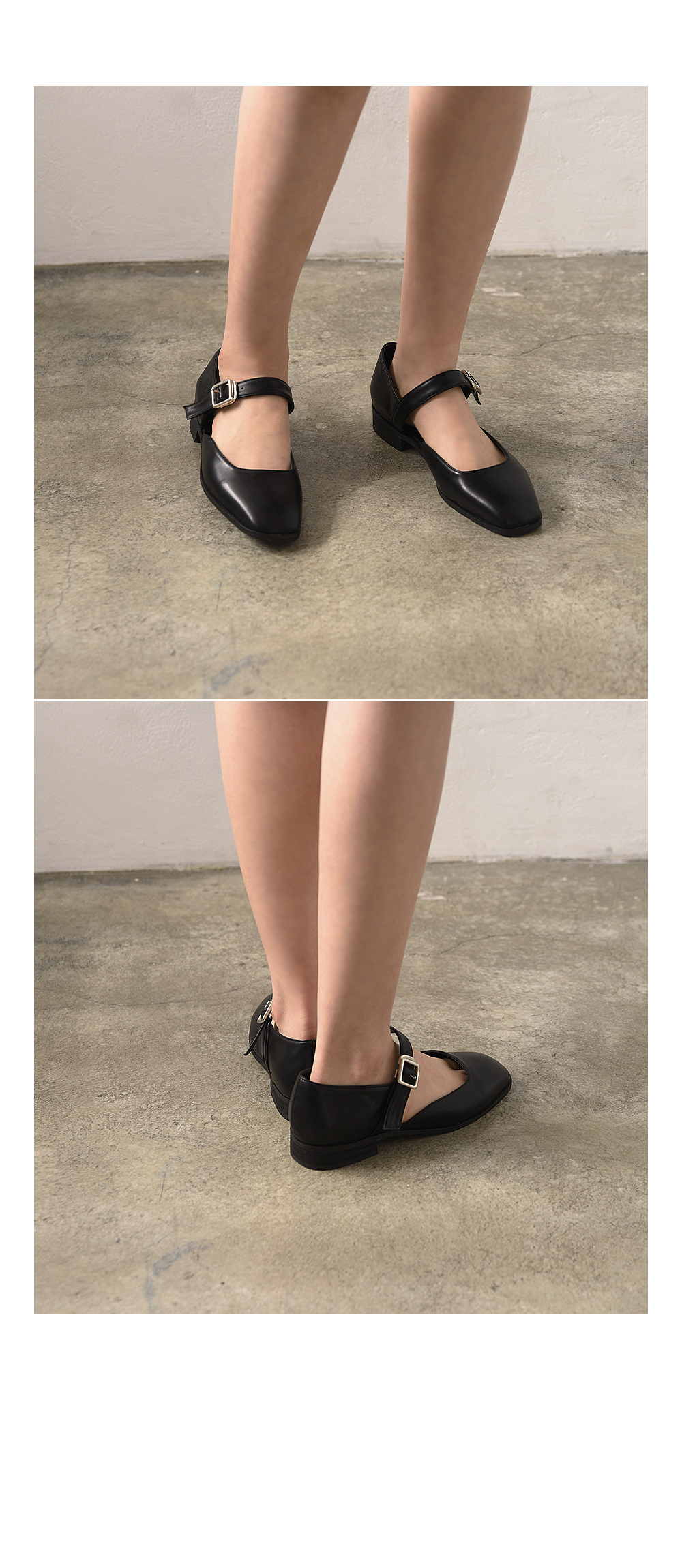Mingle Mary Jane Strap Shoes