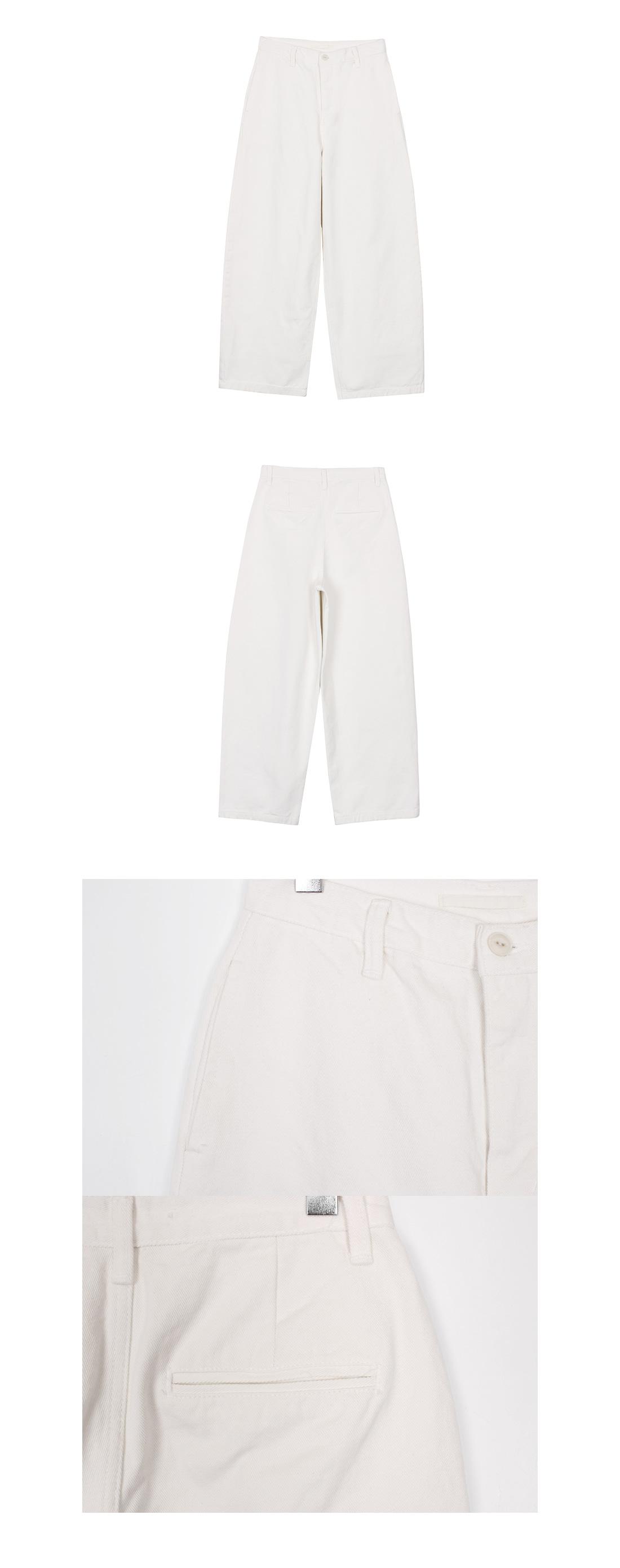 Pot wide pants