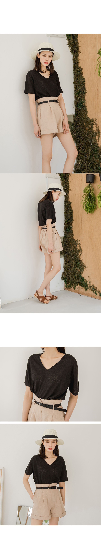 Linen Bending Shorts