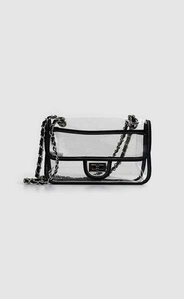 PVC chain bag (5colors)