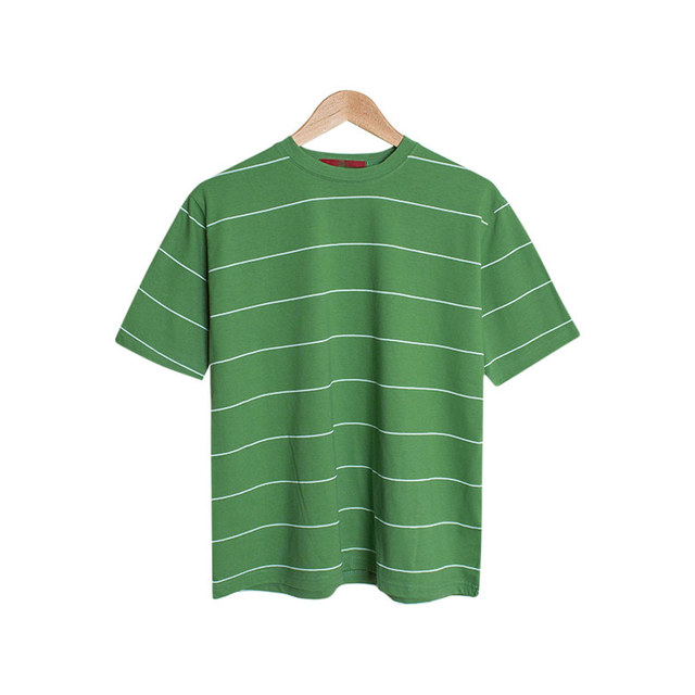 Ivy Cotton Stripe Basic T-Shirt [15Color]