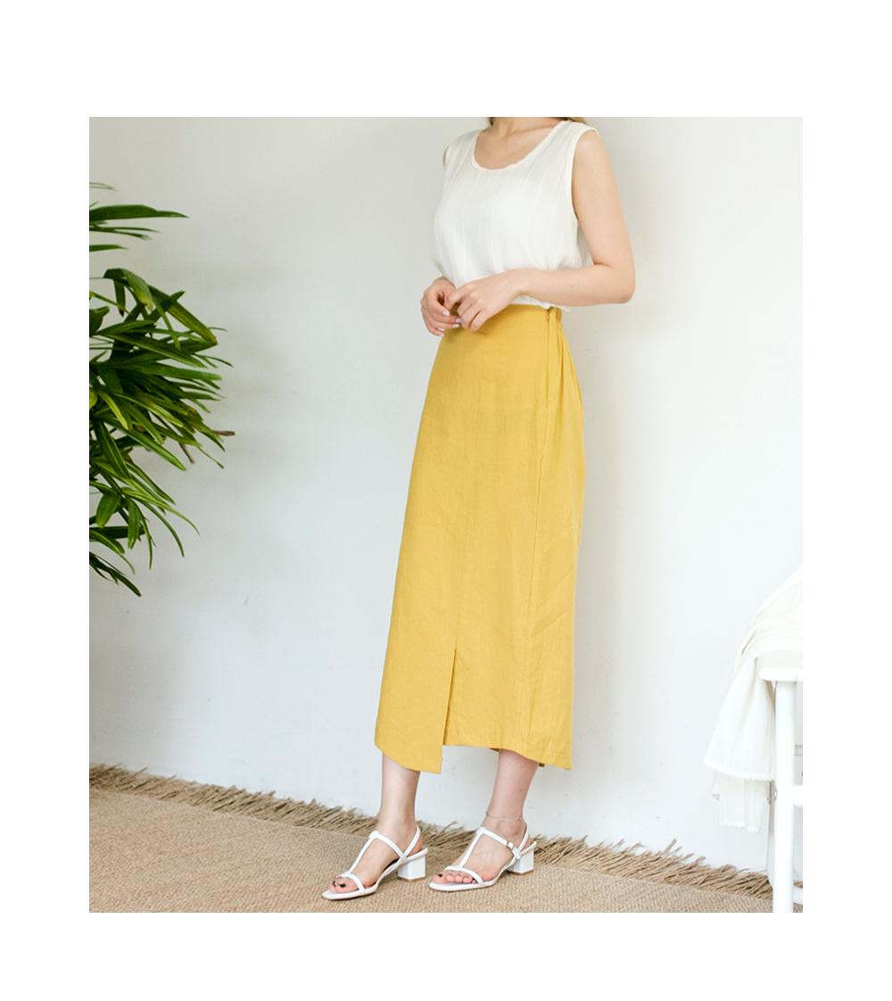 Triangle Long Skirt