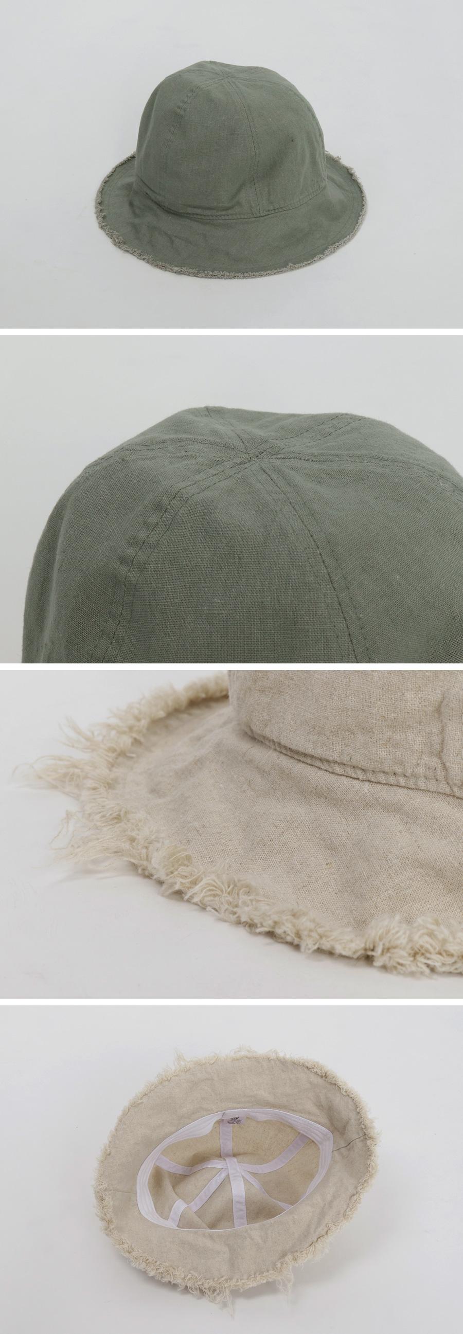 Free cotton bucket hat_M (size : one)