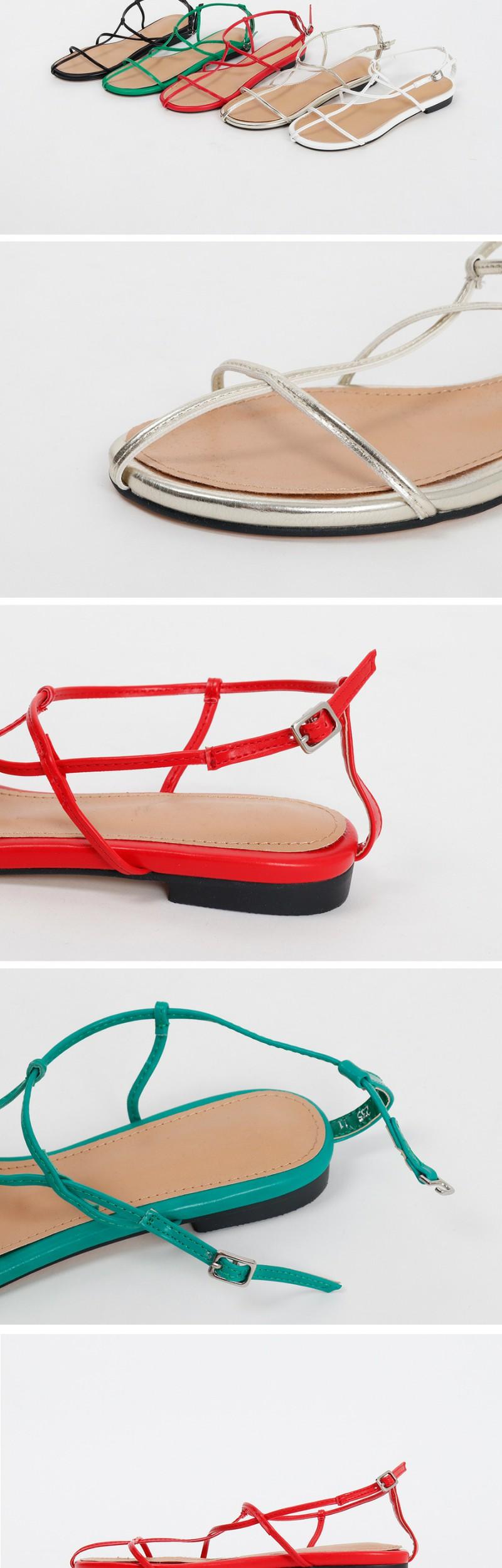City string color sandal_S (size : 230,235,240,245,250)