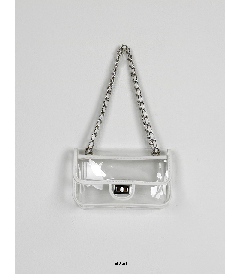 PVC chain bag (5colors)