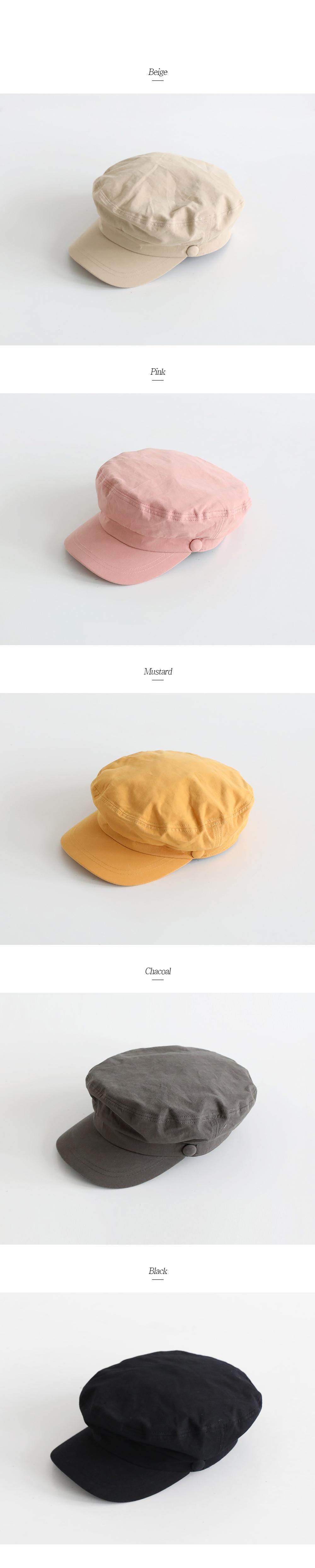 Basic Cute Marine Cap