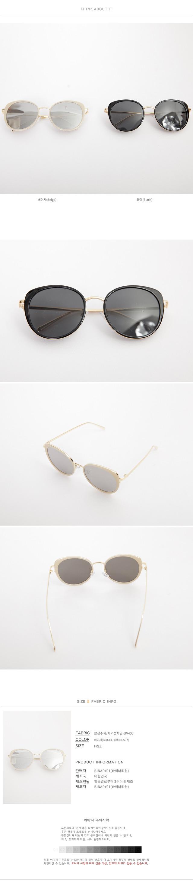 Mirror Tinted Eica sunglasses