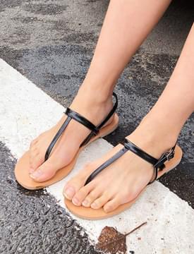 T-strap simple sandal_K (size : 230,235,240,245,250)