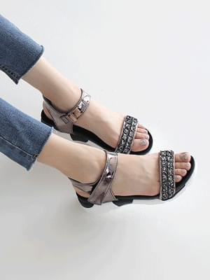 Torrance Velcro Sandals 4.5cm