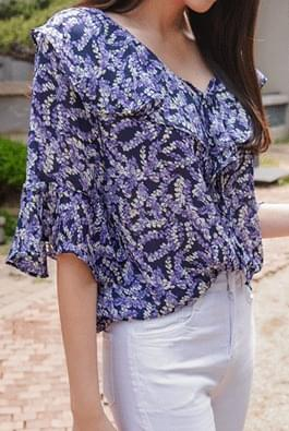 Youth flower blouse