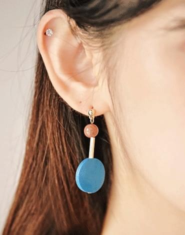 Bluewood earrings