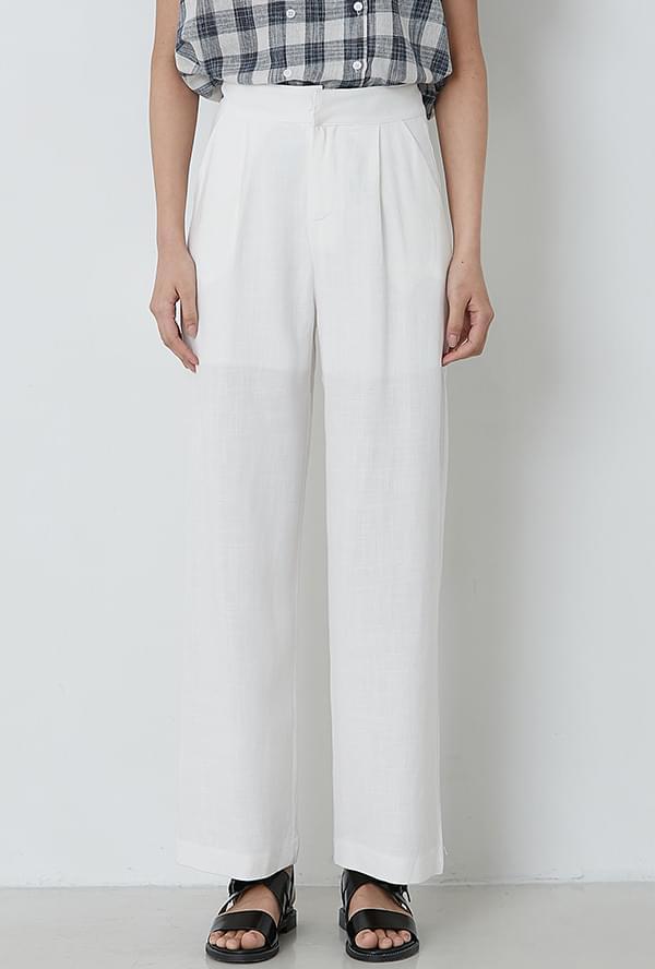 Sensual Pinto Linen Pants