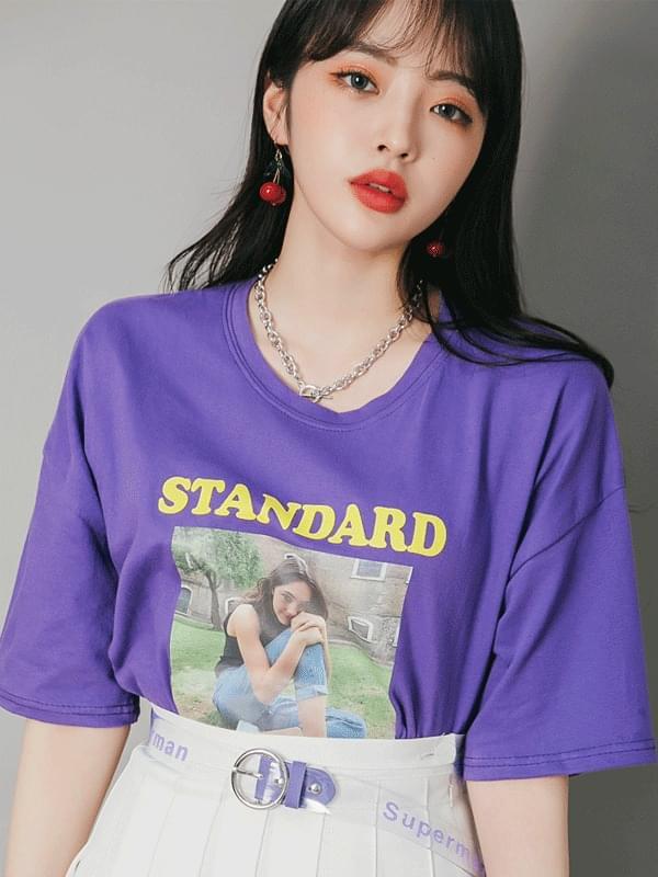 Daily Girl short-sleeved tee