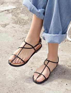 City string color sandal_S (size : 230,235,240,245,250)