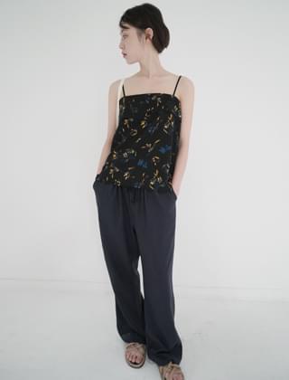 string banding long pants (4colors)