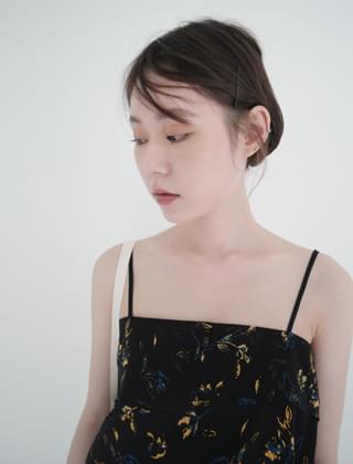 chiffon layered sensual sleeveless