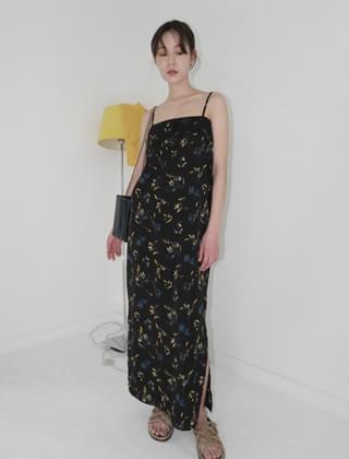 chiffon layered sensual dress