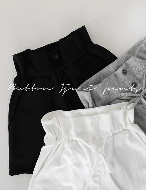 Button shirring juli hot pants
