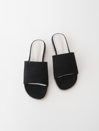 tidy solid slippers (3colors)