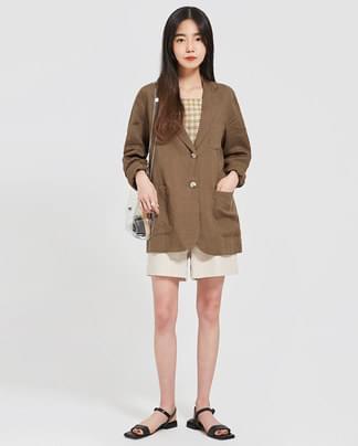 buddy pocket linen jacket