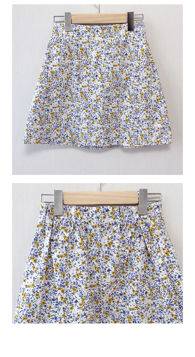 ♥ Rape flowers mini sk
