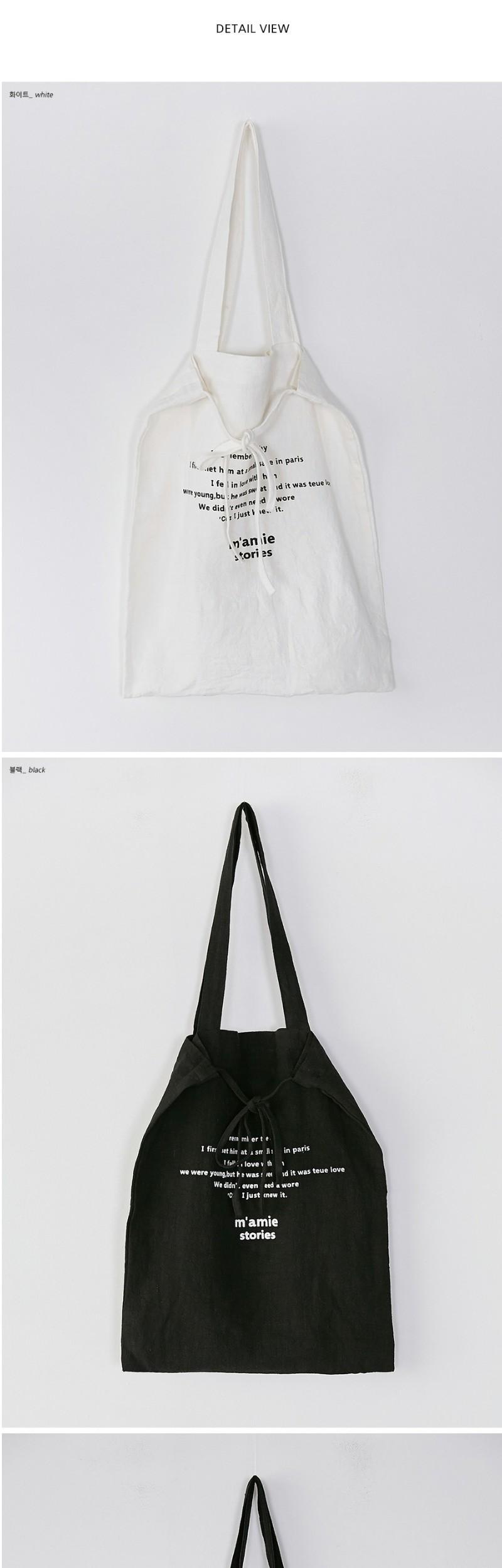 mamie string eco bag