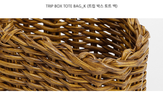 Trip box tote bag_K (size : one)