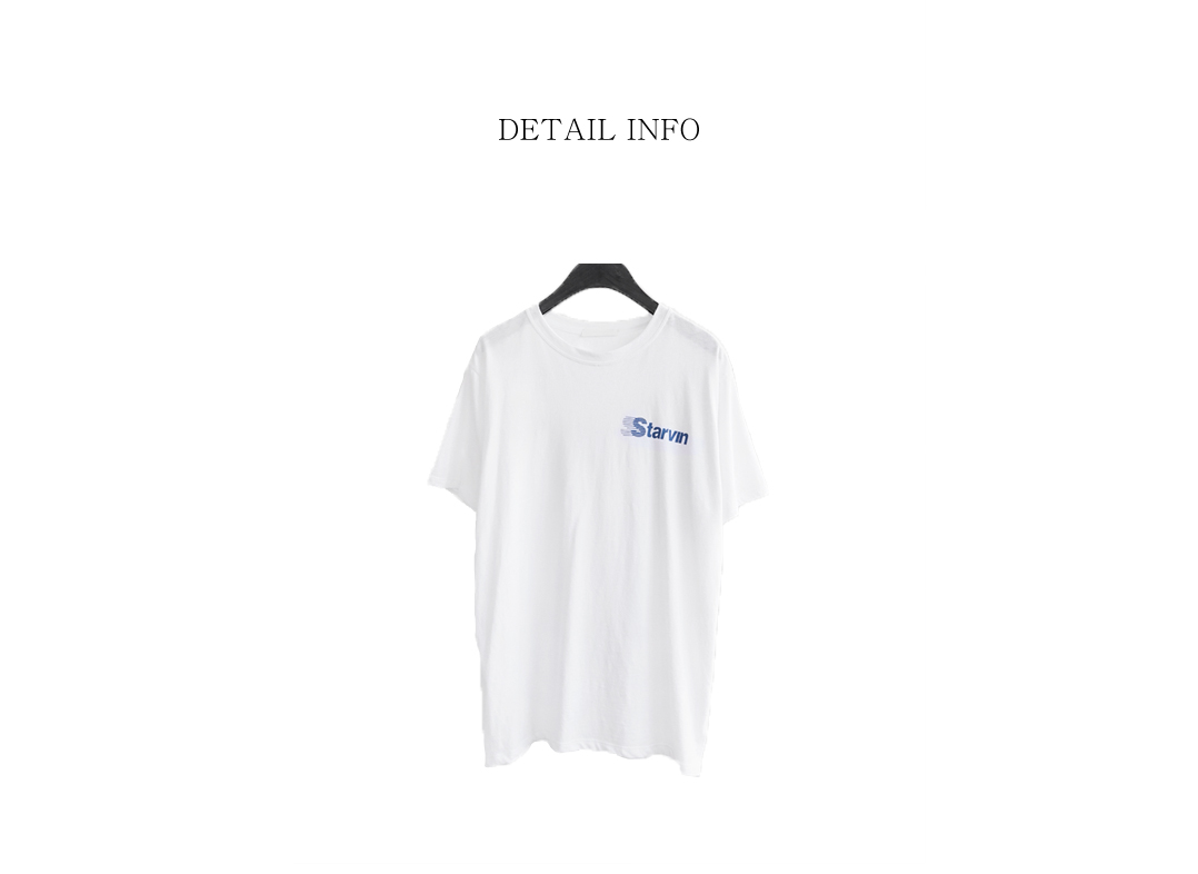 starvin typo T-shirt (2colors)