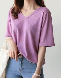 Basic linen t