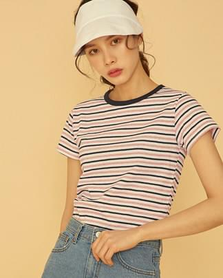 casual style stripe T