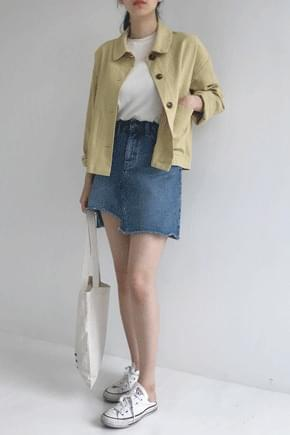 Baby linen short jacket