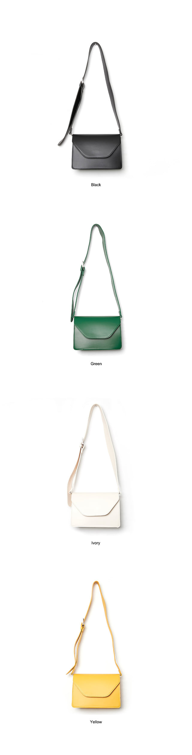 Buckle Point Square Bag