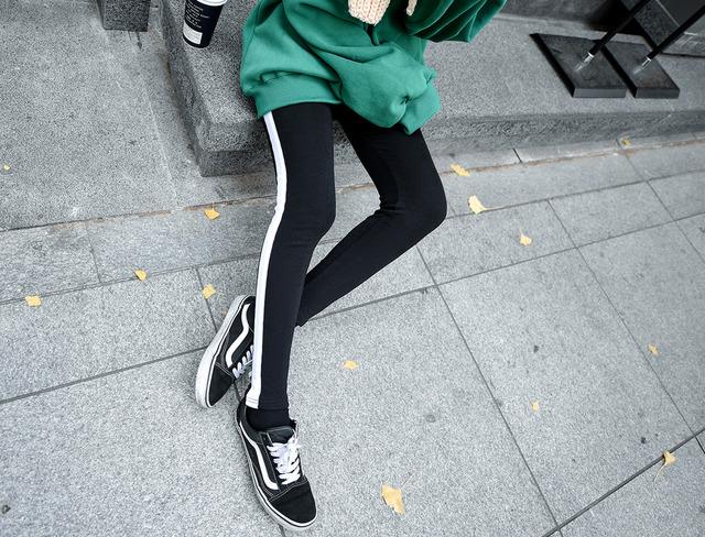 Brushed leggings line color scheme