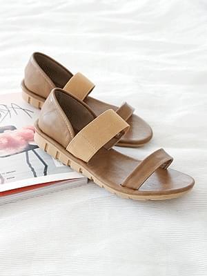 Gammon banding sandals 2.5cm
