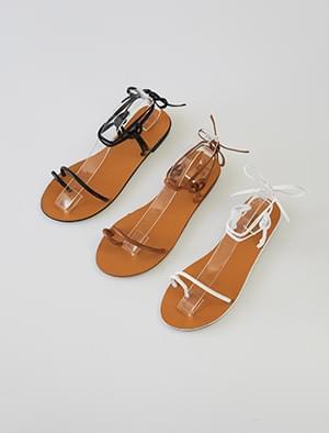 knot slim strap sandal