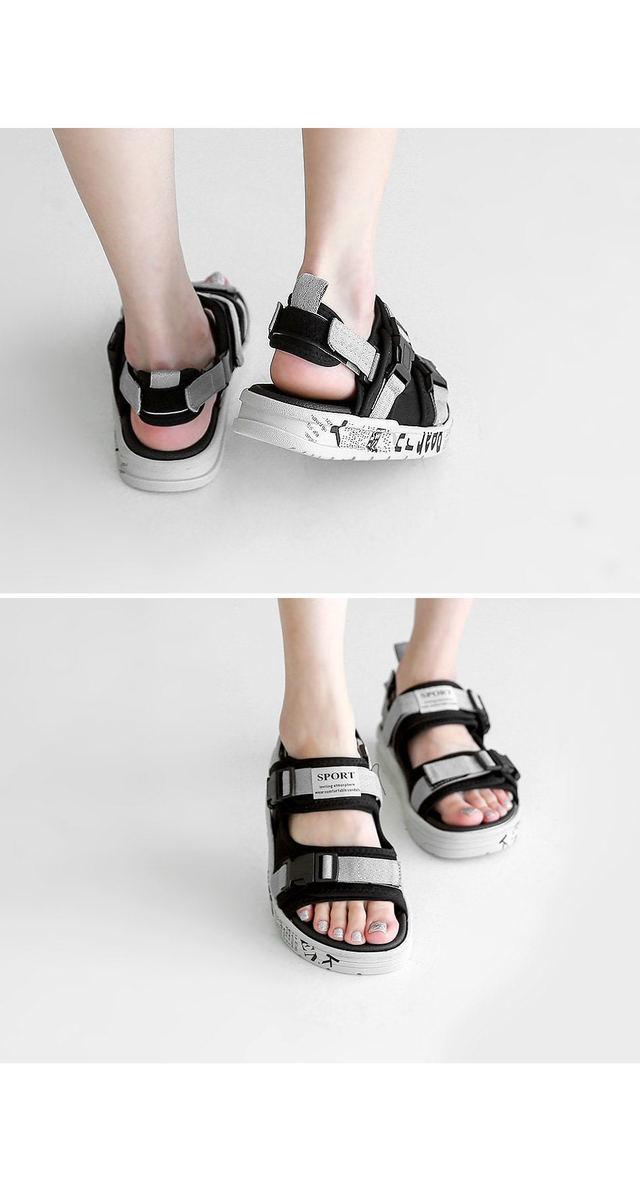 Sports Velcro Sandals 3cm