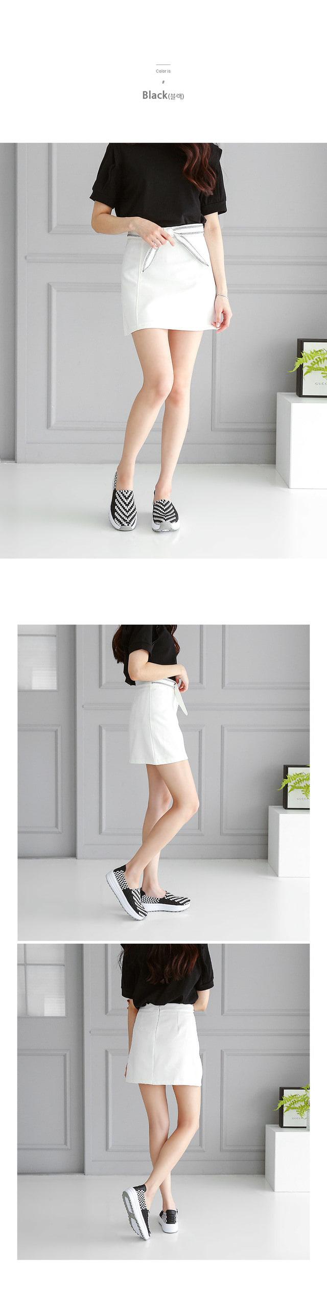 Baha Woven Shoes 4cm