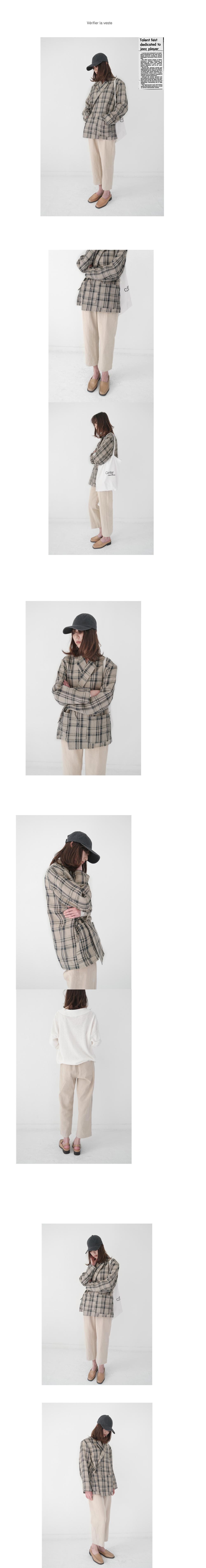 cozy linen banding pants (4colors)