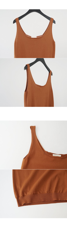 basic silhouette sleeveless (4colors)
