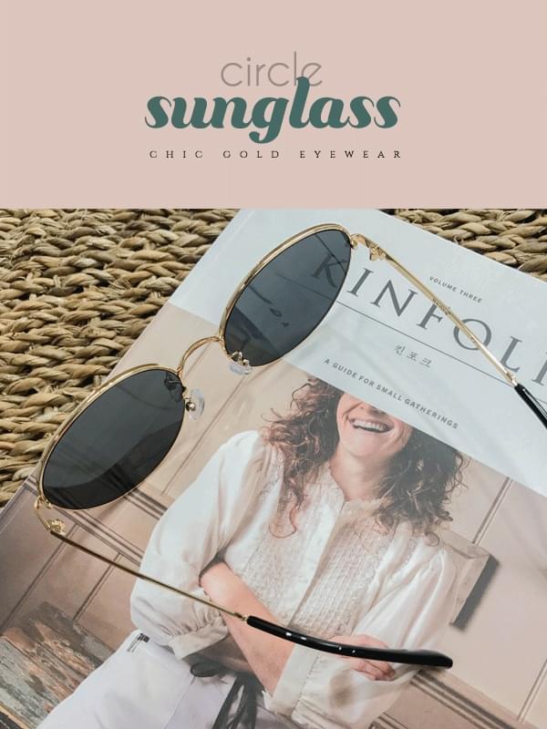 Gold Tee Sunglasses