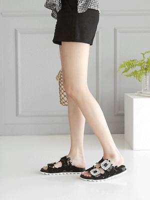 Helon Lace Slippers 3cm
