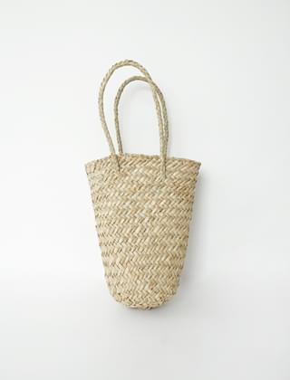 round underside basket bag