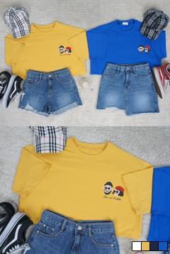 Round Couple Short Sleeve T