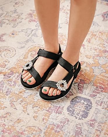 Bibi to cubic sandals