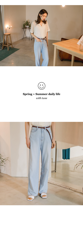 Loose Summer Denim Pants