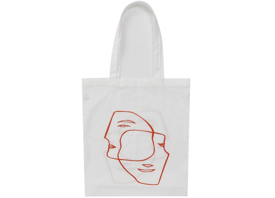 Face line cotton bag_K (size : one)