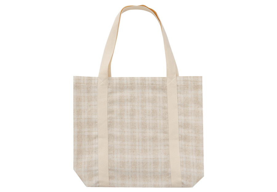 Out taping linen bag_H (size : one)