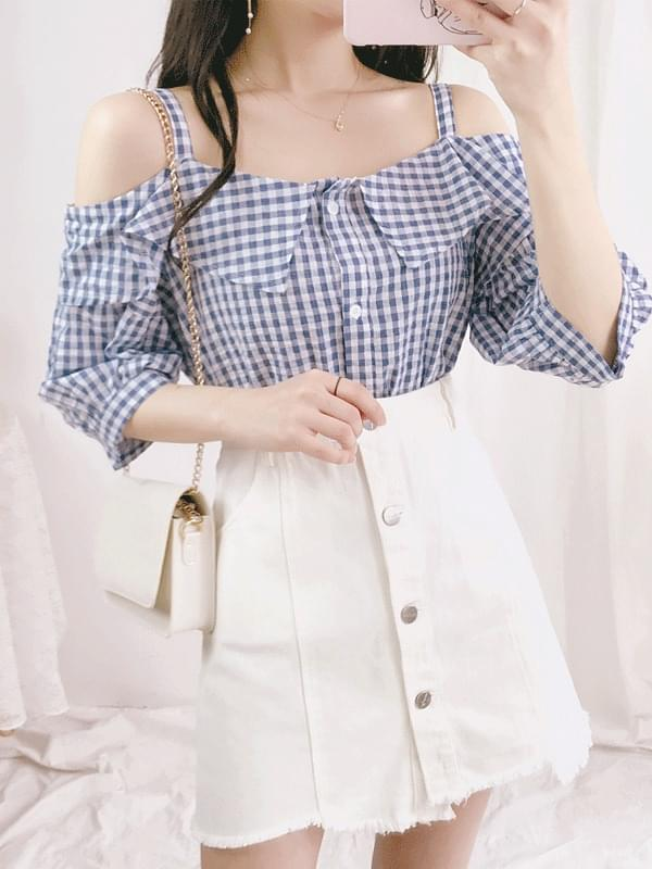 Juicy check blouse
