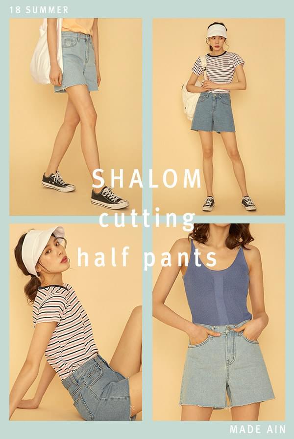SHALOM cutting half pants (s, m, l)